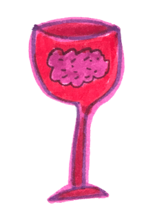 cognitive function red wine