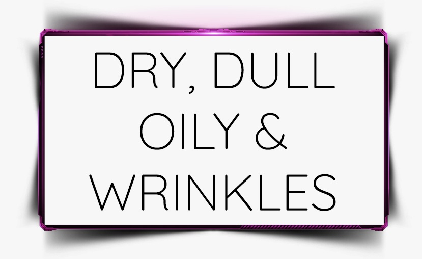 dry dull oily wrinkles beautycounter